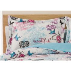 Beautiful Love Twin XL Comforter Set