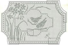 Mary Card filet crochet pattern