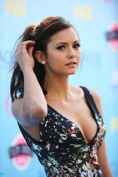 Nina Dobrev - one of my role models. She is super beautiful.