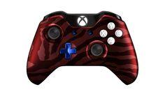 XboxOneController-RedZebra   Flickr - Photo Sharing! #Xbone #moddedcontrollers #Customcontrollers #Xbox1 #customXboxonecontroller #moddedXboxonecontroller #xboxone