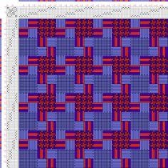 draft image: Figurierte Muster Pl. XLVII Nr. 3 (a), Die färbige Gewebemusterung, Franz Donat, 8S, 8T
