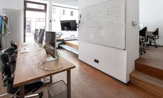 Arbeitsplätze in junger Bürogemeinschaft in Lehel #Büro, #Bürogemeinschaft, #Office, #Coworking, #München, #Munich