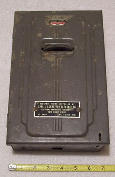 6012cc7d72cb77947d4e011c225ee890 electrical fuse finals vintage american clark 60 amp fuse electrical panel 13 x8 8 slot  at reclaimingppi.co