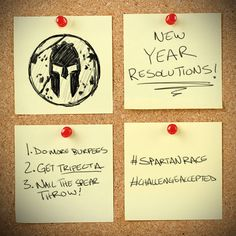 5 Tips to Stick with Your Spartan Goals in 2015! www.muddymommy.com