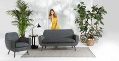 Profitez de vos soirées estivales avec les canapés et fauteuils de jardin de la collection Jonah.