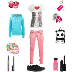 """Blah, Blah, Blah ._."" by annie-bear on Polyvore"