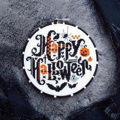 PDF Happy Halloween cross stitch patterns by Lucky Star