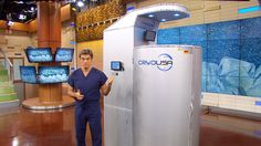 Sneak Peek: Dr. Oz Experiments With Cold Therapy: Dr. Oz tries cryotherapy, which involves getting into a chamber that's 240 degrees below zero to see if it really helps to alleviate pain and anxiety.
