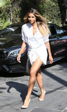 Ciara's maternity style is already SO good | Celebrity pregnancy style outfits