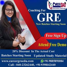Careergro Overseas Consultant is one of the best study abroad consultants in Hyderabad. We provide best services for study, work and want to migrate abroad. Gre Exam, Overseas Education, Mock Test, Study Materials, Study Abroad, Higher Education, Coaching, Free