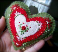 Image result for scandinavian felt ornaments