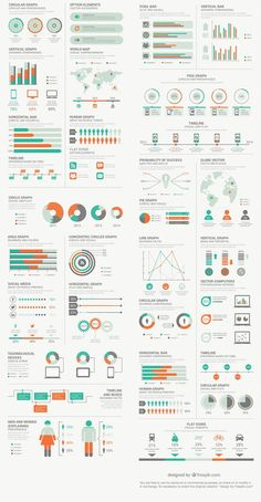 Free Infographic Elements Pack From FreepikYou can find Chart design infographic and more on our website.Free Infographic Elements Pack From Freepik Graphisches Design, Chart Design, Layout Design, Design Ideas, Diagram Design, Interior Design, Modern Interior, Free Infographic, Infographic Templates