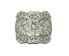 Rhinestone Belt buckle Deco Period by TTOrlando on Etsy