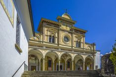 Madonna, Notre Dame, Mansions, House Styles, Building, Travel, Decor, Switzerland, Scenery