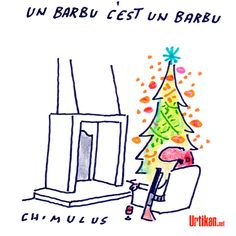 Barbophobie - Dessin du jour - Urtikan.net