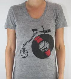Record bike t-shirt     http://www.fibica.com/