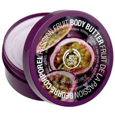 Passion Fruit Body Butter from The Body Shop ~ Amazing true passion fruit scent (and I had a good taste of them in Hawaii)! Rich and creamy butter that's great for normal/dry skin. I like to use it on my hands and feet before bed, as it's slightly greasy right after application.