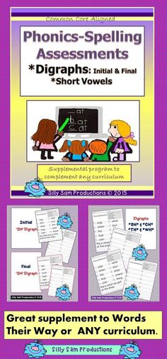 BLENDS - SHORT VOWELS! Many times when learning BLENDS, the words are using more advanced sounds that students aren't ready for. This set uses INITIAL and FINAL DIGRAPHS in SHORT VOWEL WORDS that students can actually SPELL! Great Data for *Phonics *Spelling *Language Arts* Sentence Writing and *Handwriting too! $