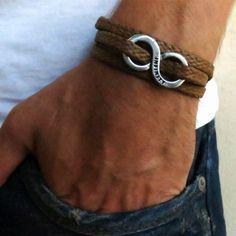 Men's Triple Wrap Rope Bracelet by Gali's
