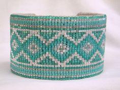 Southwestern Beaded Cuff Bracelet