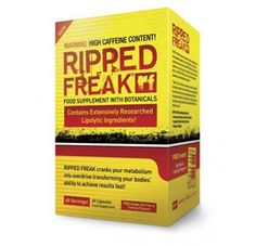 Ripped Freak – Hybrid Fat Burner By Pharmafreak (60 Capsules) Fast Shipping and Ship Worldwide