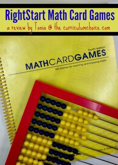 Daily math lessons elicit groans from many children – my own daughter included. One way that I helped overcome the daily drudgery of math was by including math games whenever possible. RightStart's Math Card Games Kit is our favorite resource for math fun. RightStart Math Games If you're looking for ways to add some fun to your daily math lessons, the Math Card Games Kit