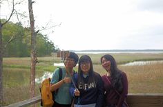 Group selfie at the Taskinas Creek Trail at York River State Park, Virginia