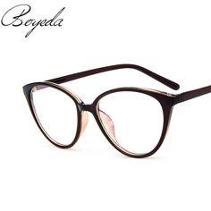 2017 Brand Fashion Women Myopia Eye Glasses Frame Cat's Eye Optical Glasses Frame Vintage Retro Spectacle Eyewear Eyeglasses
