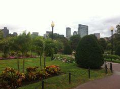 Quincy Market & Public Garden in Boston