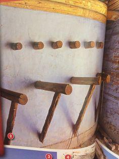 Saddle racks and tack room
