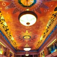 Art Deco Wedding Venue - The Thaxton Building - Ceiling