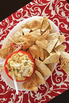 Caramelized Vidalia Onion and Blue Cheese Hot Dip - I used half of the dip mixture and added artichoke hearts.