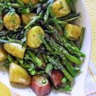 Roasted New Potatoes and Asparagus | Cinnamon Spice & Everything Nice
