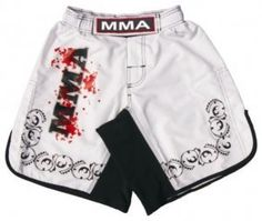 MMA Board Shorts in Soft Fabric White Size 3XL by Worldorf USA. $9.99. New MMA Shorts in Soft Fabric with new look and design.