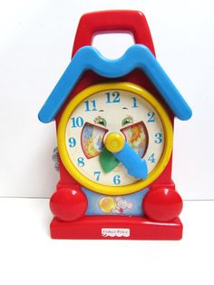 Fisher Price Teaching Musical Clock Educational by TimelessToyBox, $12.95