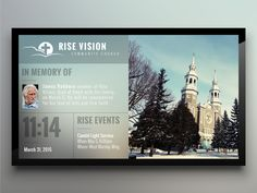 Church for Digital Signage