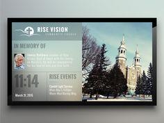 Church for Digital Signage