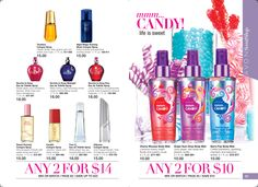 All these fragrance choices.  This is  $7. and $5. gifts! www.youravon.com/andralynn70