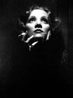 """If she did not have anything except the voice, it still would crash your heart""  April 1, 1930 after the premiere of the film ""The Blue Angel"" Rose star Marlene Dietrich. In the film she played a seductive canary and dancer Lola-Lola"