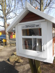Free Little Library, Granville Island, Vancouver BC. #day3