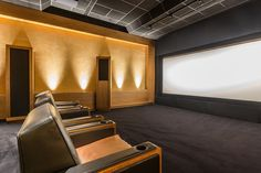Top 70 Best Home Theater Seating Ideas - Movie Room Designs Home Theater Room Design, Home Cinema Room, Best Home Theater, Home Theater Rooms, Home Theater Seating, Small Home Theaters, Media Room Design, Home Cinemas, Furniture Layout