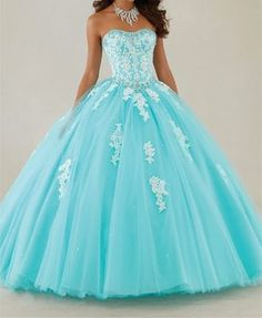 Pretty quinceanera dresses, 15 dresses, and vestidos de quinceanera. We have turquoise quinceanera dresses, pink 15 dresses, and custom quince dresses! Tulle Ball Gown, Ball Gowns Prom, Ball Gown Dresses, Homecoming Dresses, Dress Prom, Party Gowns, Dress Lace, Chiffon Dresses, Party Dress