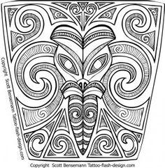 maori art | Maori Tribal New Zealand Silver Fern Tattoo variations