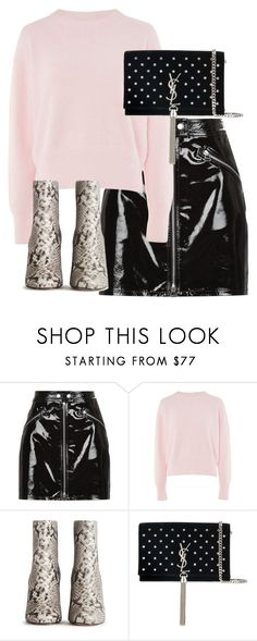 """""""Untitled #5199"""" by theeuropeancloset ❤ liked on Polyvore featuring rag & bone, Topshop and Yves Saint Laurent"""
