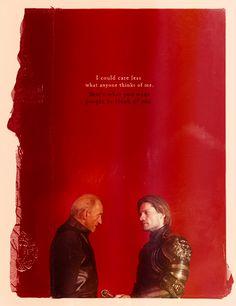 Tywin & Jaime Lannister ~ Game of Thrones Fan Art