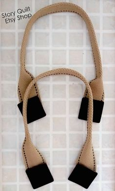 17 5 45 5 cm woven strap handle with genuine leather Diy Handbag, Diy Purse, Diy Bags Purses, Purse Handles, Jute Bags, Patchwork Bags, Bag Patterns To Sew, Denim Bag, Fabric Bags