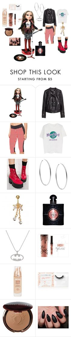 """Bratz Rock Angelz"" by naomi-mimi-davies-brown on Polyvore featuring H&M, Shoe Republic LA, Michael Kors, Maybelline, Georgie Beauty and Bobbi Brown Cosmetics"