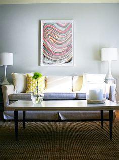marbled paper - framed. via jillian harris