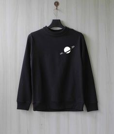 Items similar to Saturn Ring Saturn Sweatshirt Sweater Jumper Pullover Shirt – Size XS S M L XL on Etsy Crop Top Sweater, Sweater Shirt, Jumper, Mama Bear Sweatshirt, Couple Shirts, Aesthetic Clothes, Cool Outfits, Sweatshirts, Hoodies
