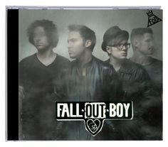 """""""fall out boy Cd case"""" by xxrebeccaxx123 ❤ liked on Polyvore featuring art"""